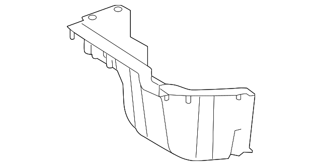 Storage Compartment - Toyota (64997-0R010)