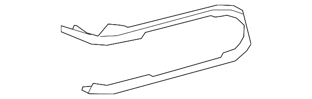 Center Panel Trim - Toyota (55476-04010-B1)