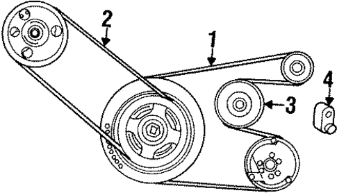 Belts And Pulleys Scat as well Spare Tire Carrier Scat together with T23542741 2005 jeep grand cherokee laredo firing in addition Jeep Wrangler Flasher Relay Location moreover Jeep Tj Fuel System Diagram. on 91 jeep wrangler engine