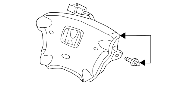 OEM Honda 06770-S9A-A30ZB - Driver Air Bag