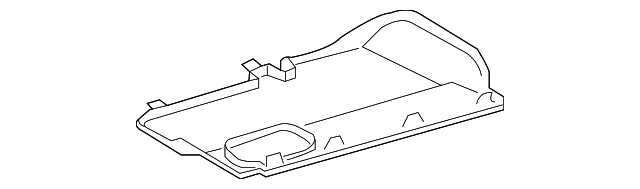 Lower Cover - Toyota (55607-0C010-E0)