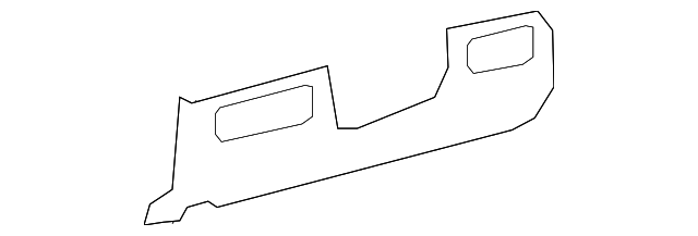 Lower Trim Panel - Toyota (55046-0C080-E1)