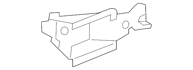 OEM Honda 04609-T3V-A00ZZ - Support Bracket