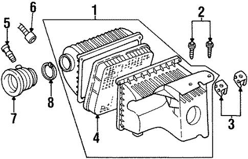 Buick Lesabre Sensor Connector 1997 1999