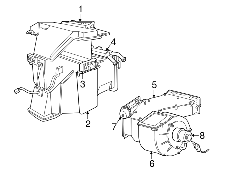 2003 Ford F250 Door Sensor also Evaporator And Heater  ponents Scat additionally 2000 Dodge Dakota Heater Wiring Diagram as well T12870195 02 dodge durango heater hose diagram further Dodge 1500 Steering Diagram Html. on 1998 dodge dakota heater core