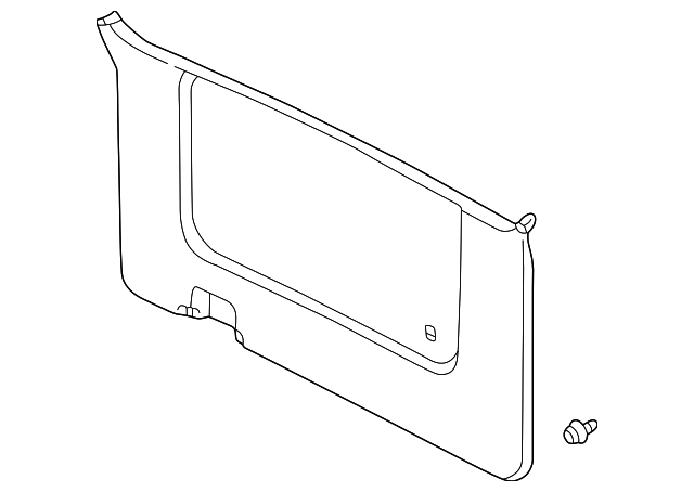 Gate Trim Panel - Toyota (67750-08010-E0)