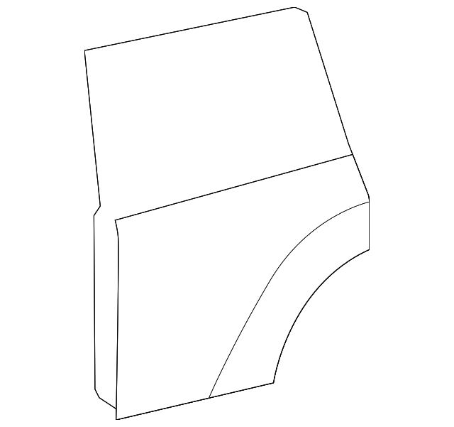 Door Shell - Toyota (67003-0E060)