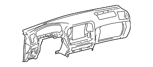 Instrument Panel - Toyota (55401-60190-B1)