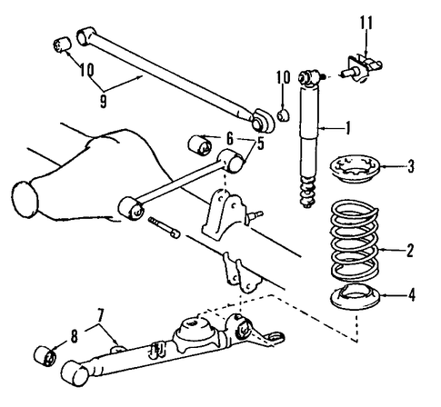 Solenoid Valve Mazda Tribute Parts Diagram