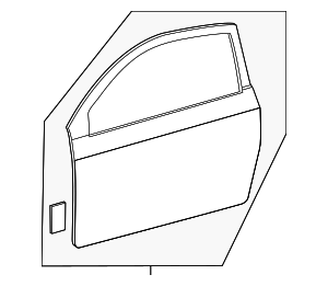 Door Shell - Toyota (67001-21182)