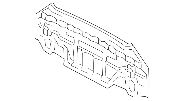 Panel Below Lid - Toyota (58307-2B260)