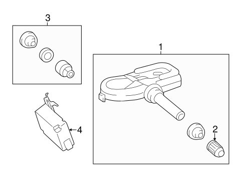 ELECTRICAL/KEYLESS ENTRY COMPONENTS for 2013 Toyota RAV4 #1