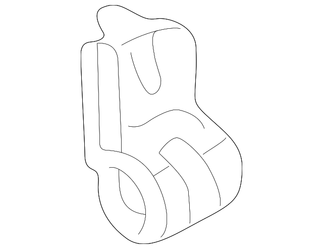 OEM Honda 80364-SF1-000 - Suction Pipe Clamp