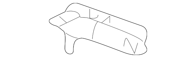 BRACKET B (LOWER) - 2010 Honda RIDGELINE (80104S0XA01)