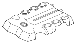 Engine Cover - Toyota (11259-31310)