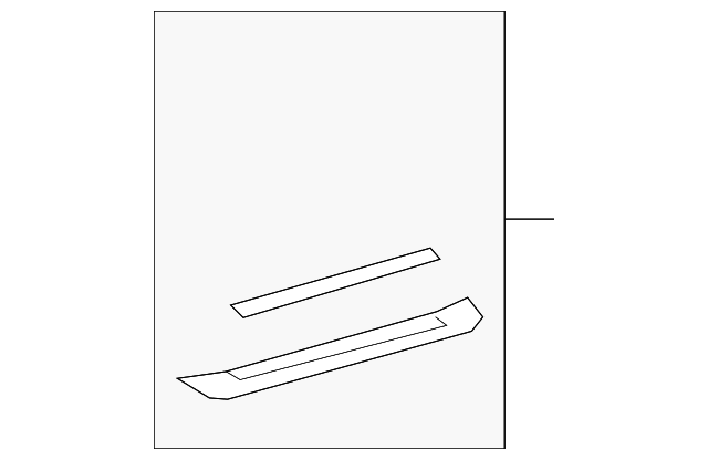 Front Sill Plate - Toyota (67911-48100-E0)