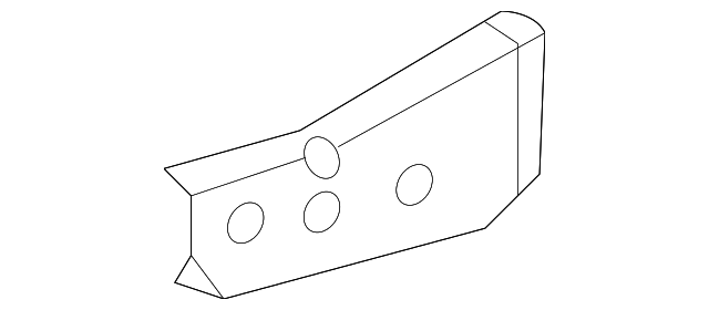 Side Member Extension - Toyota (57204-0C010)
