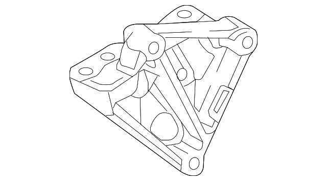 Side Mount Bracket - Toyota (12315-37060)