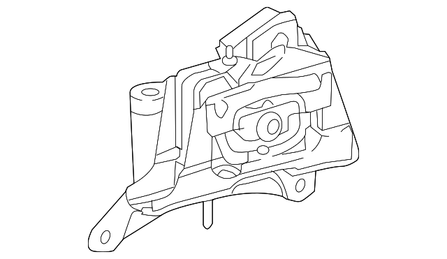 Side Mount - Toyota (12372-37301)