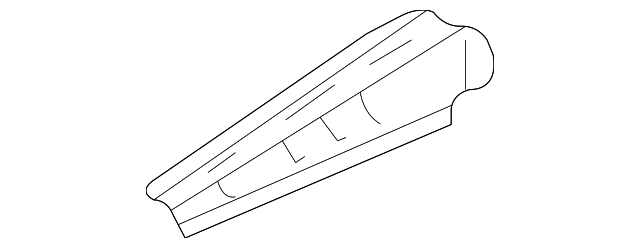 Upper Rail - Toyota (53731-08010)