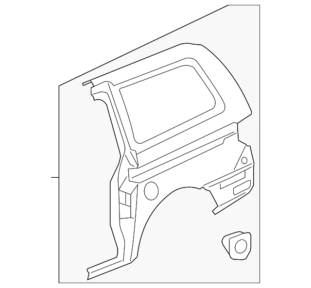 OEM Honda 04646-SHJ-C10ZZ - Side Panel