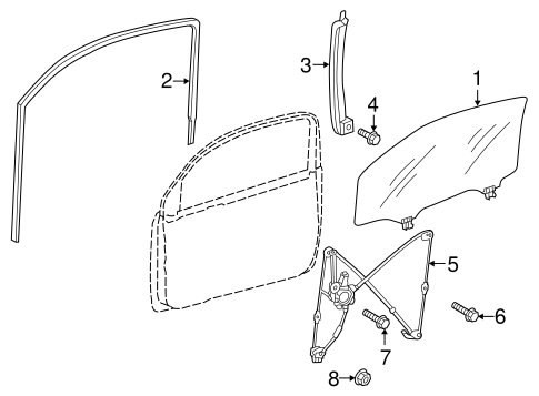 Rear Guide - Toyota (67404-74010)
