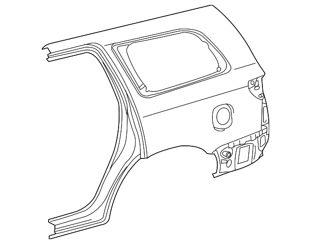 Quarter Panel - Toyota (61612-0C110)
