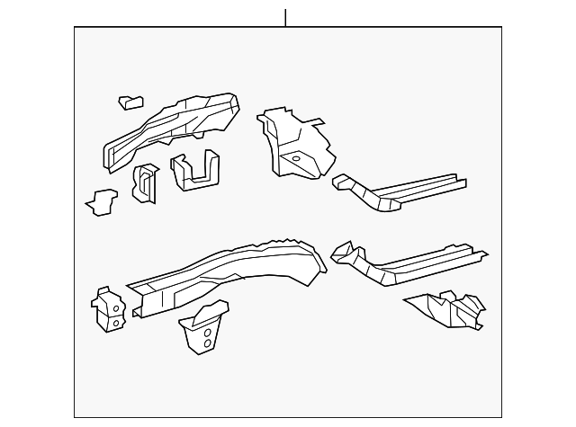 Rail Assembly - Toyota (57102-07022)