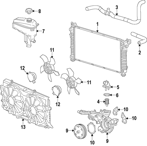 251182036767 furthermore Mack Mc E7 11 9 730 Gasket Oil Pan New 579gb422 20706142 6 4 88 123 83 Mm as well 3ng5e Remove Radiator 2006 Pontiac G6 moreover Transmission Cooler Return Line Chart likewise Index. on chevy nova radiator