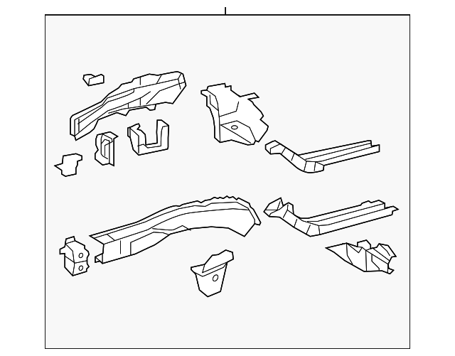 Rail Assembly - Toyota (57101-06171)