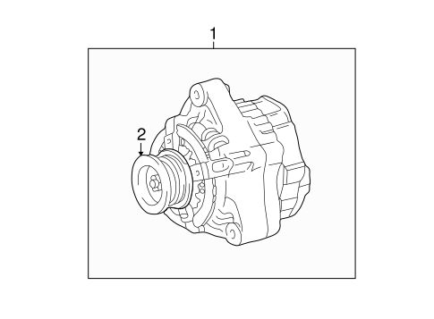 ELECTRICAL/ALTERNATOR for 2006 Toyota Tundra #1