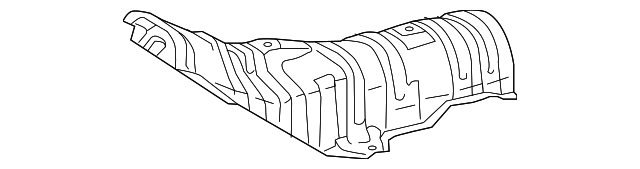 Heat Shield - Toyota (58151-12310)