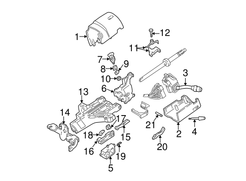 ignition lock for 1999 ford f