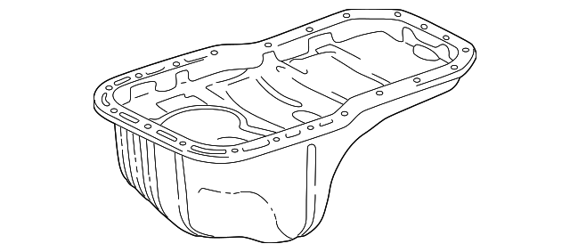 Oil Pan - Toyota (12101-28050)