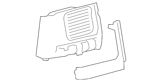 Air Outlet - Toyota (55650-0E050-C0)