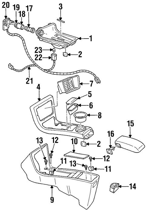 chevrolet monte carlo connector wire 1995