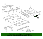 Floor Extension - Toyota (57838-0R030)