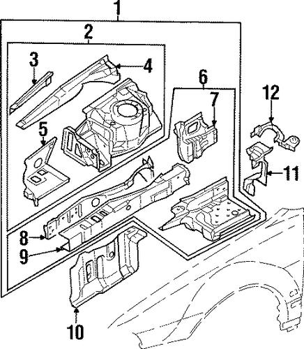 mitsubishi diamante parts catalog