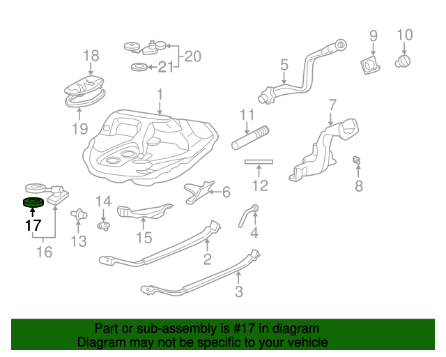 1987 Honda ACCORD SEDAN LX GASKET, BASE - (17574SE0000)