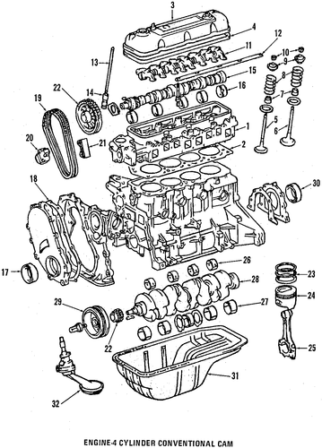 Timing Chain - Toyota (13506-73010)