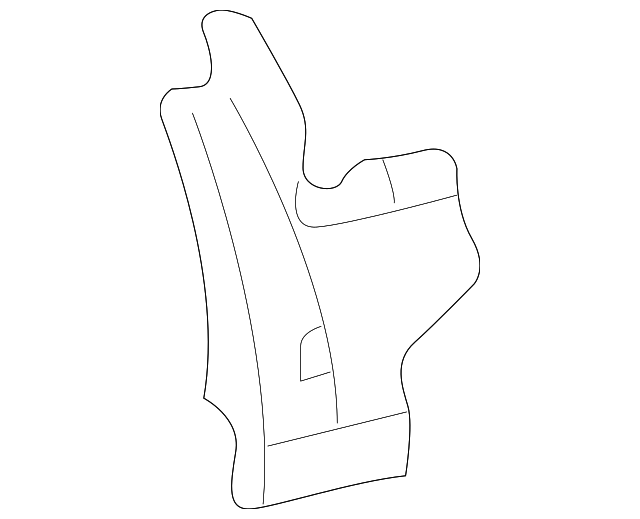 Panel Reinforced - Toyota (61738-AC010)