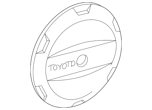 Spare Cover - Toyota (64771-42070)