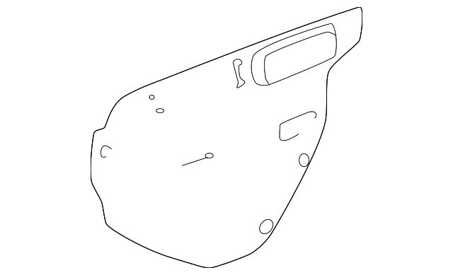 Water Shield - Toyota (67841-01020)