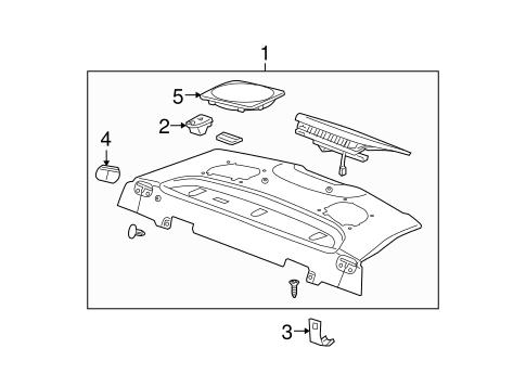 Interior Trim Rear Body Scat