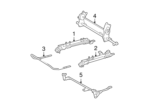BODY/TRACKS & COMPONENTS for 2005 Toyota Highlander #1