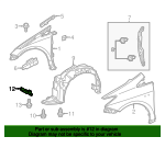 Liner Extension - Toyota (53852-47050)