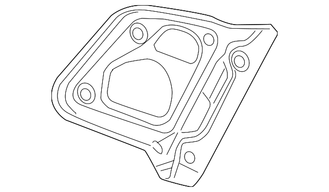 2014 Honda ACCORD PLUG-IN HYBRID (PLUG-IN) GASKET, BASE - (34152T2AA01)
