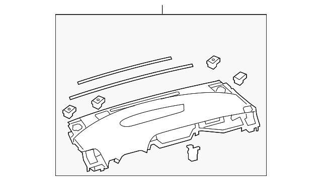 Upper Panel - Toyota (55300-47200-B0)