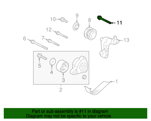 2010 Honda CIVIC COUPE EX-L BOLT, FLANGE (12X60) - (957011206008)