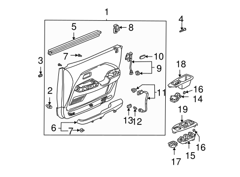 Cushion, Wire Harness (50X50) - Honda (91902-SJ8-003)